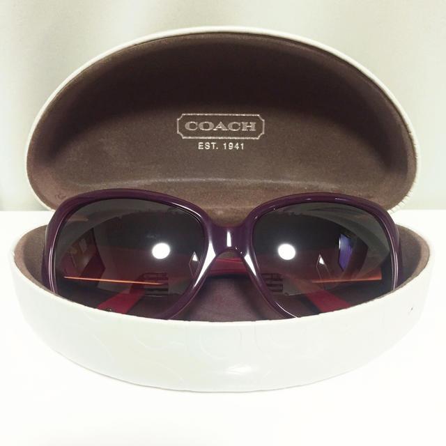 d2cb34ec4c25 COACH(コーチ)のCOACHコーチサングラス レディースのファッション小物(サングラス/メガネ