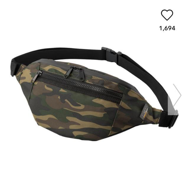 GU(ジーユー)のGU ウエストポーチ メンズのバッグ(ウエストポーチ)の商品写真