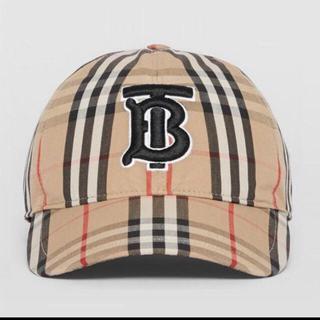 バーバリー(BURBERRY)の新品 バーバリー キャップ 刺繍 ロゴ 帽子 Burberry(キャップ)