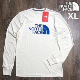 THE NORTH FACE - ノースフェイス L/S 長袖 Tシャツ(XL)アイボリー 180902