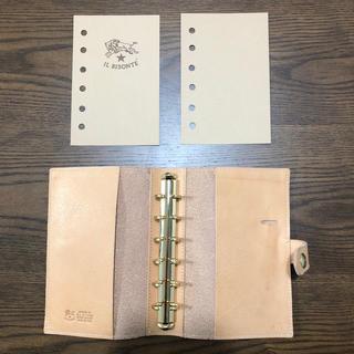 イルビゾンテ(IL BISONTE)のイルビゾンテ手帳カバー(手帳)