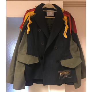 sacai - 19SS sacai×pendleton コラボ ジャケット 美品