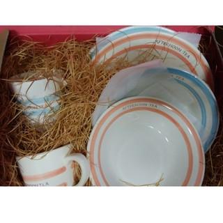 アフタヌーンティー(AfternoonTea)のafternoonTea ペアマグ&皿6点セッ(食器)