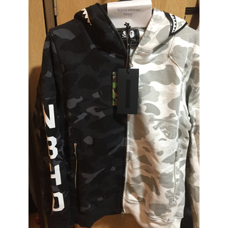 A BATHING APE - Neighborhood x Bape Hoodie