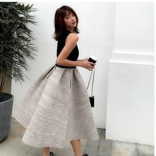 Birthdaybash クルーネックバルーンドレス ワンピース 美品