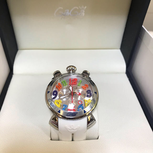GaGa MILANO - ガガミラノ マヌアーレクロノ48MM メンズラバー腕時計の通販