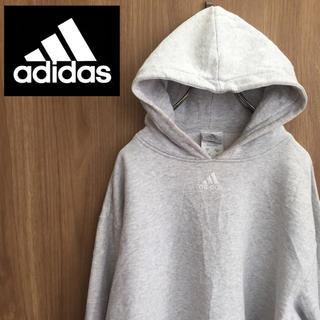 adidas - 【激レア】アディダス☆パフォーマンスロゴ 刺繍 スウェットパーカー カナダ製☆