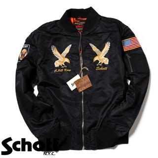 ショット(schott)のSchott NYC ショット ★ XS 刺繍 MA-1 フライト ジャケット(ブルゾン)