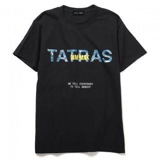 タトラス(TATRAS)の【限定品】TATRAS × DIMMAK コラボTシャツ 希少『黒』(Tシャツ/カットソー(半袖/袖なし))