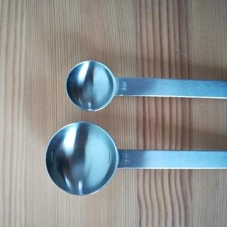 MUJI (無印良品) - 無印良品  計量スプーン 大 小 中古品