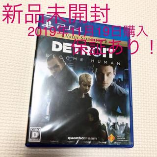 プレイステーション4(PlayStation4)の【新品未開封】PS4ソフト「Detroit: Become Human」(家庭用ゲームソフト)