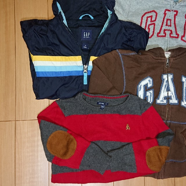 GAP(ギャップ)のGAP 男児 パーカー ニット 4着セット キッズ/ベビー/マタニティのキッズ服 男の子用(90cm~)(ジャケット/上着)の商品写真