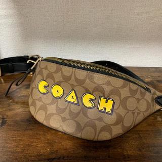 COACH - coachパックマンコラボボディバッグ