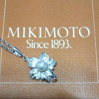 ミキモト(MIKIMOTO)のMIKIMOTO一粒パールネックレス(ネックレス)