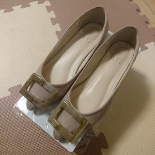 エージーバイアクアガール(AG by aquagirl)のAG by aquagirl べっ甲トップフラットシューズ パンプス ぺたんこ靴(ハイヒール/パンプス)