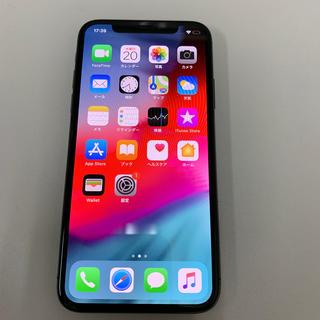 アイフォーン(iPhone)のiPhoneX 256GB 64341(スマートフォン本体)
