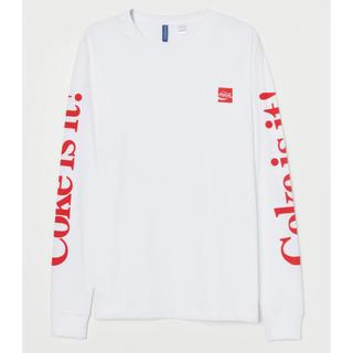 H&M - 【H&M】新作&新品 ☑️ Coca-Cola コカコーラ ロンTシャツ M