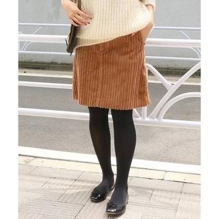 IENA - IENA イエナ 親子コール 台形スカート キャメル