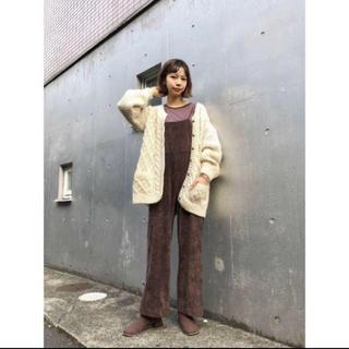 Kastane - ☆19AW 今期新作 完売品 Kastane フェイクスウェードサロペット