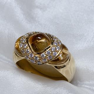 jewel studio シトリン ダイヤモンド リング(リング(指輪))