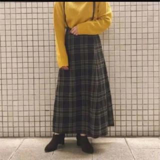SM2 - SM blue☆サス付きチェックスカート(グレー)