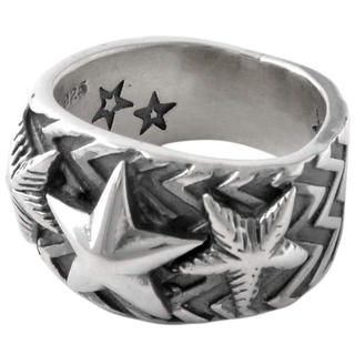 Chrome Hearts - cody sanderson wave gear 3 star ring 19号