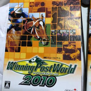 コーエーテクモゲームス(Koei Tecmo Games)のウイニングポストワールド2010(PCゲームソフト)