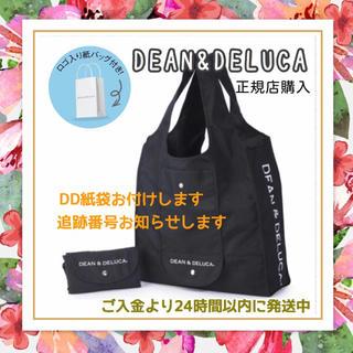 DEAN & DELUCA - 紙袋付き*黒DEAN&DELUCA正規品エコバッグショッピングバッグトートバッグ