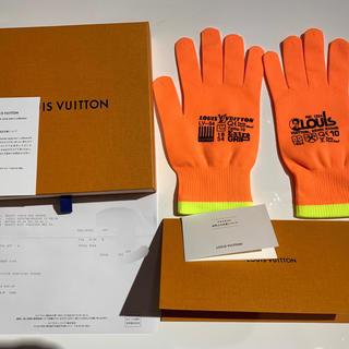 ルイヴィトン(LOUIS VUITTON)のポップアップストア限定★ヴァージル アブロー★グローブ★ゴン・アールジービー(手袋)