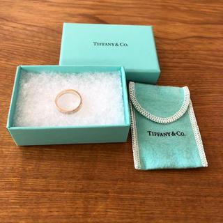 Tiffany & Co. - お値下げ!Tiffany&Co. ティファニー ナローリング 指輪 付属品付き