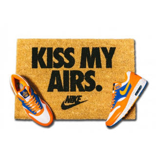NIKE - 新品未使用 NIKE KISS MY AIRS DOORMAT  ラグマット