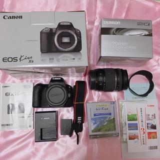 Canon - canon キャノン EOS Kiss X9  セット