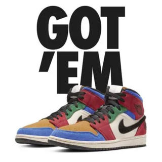 ナイキ(NIKE)のNIKE AIR JORDAN1 BLUE THE GREAT(スニーカー)