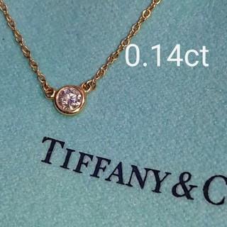 Tiffany & Co. - ティファニー バイザヤード ネックレス k18 ダイヤ ダイヤモンド