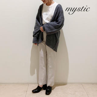 mystic - 最新作❁ミスティック モヘア畦カーディガン