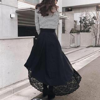 eimy istoire - エイミー 裾レーススカート