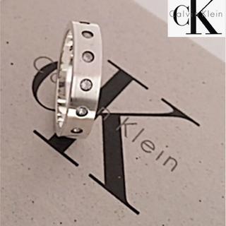 Calvin Klein - ★*゜Calvin Klein/シルバー925リング⚫︎10.5号✨