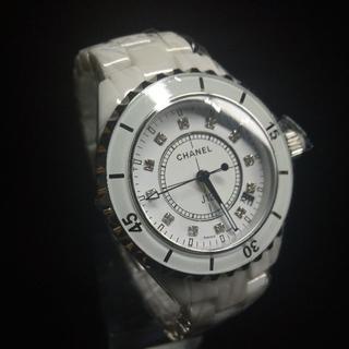 CHANEL - シャネル 腕時計 j12 腕時計 ホワイト 女性用 33mm
