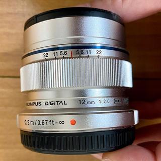OLYMPUS - OLYMPUS 12mm F2.0単焦点レンズ (純正)