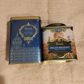ハロッズ(Harrods)のハロッズ Harrods 紅茶 2缶セット(茶)