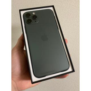Apple - iPhone 11 Pro 64GB ミッドナイトグリーン  SIMフリー