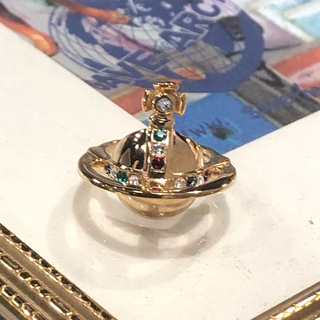 ヴィヴィアンウエストウッド(Vivienne Westwood)の新品 Vivienne ソリッドオーブリング M(リング(指輪))