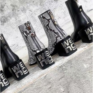 WANG LEATHER BOOTS(ブーツ)