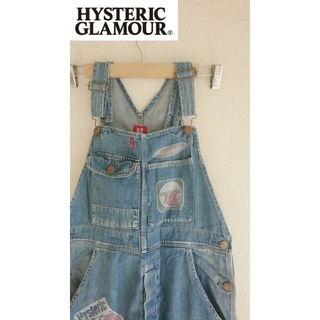 HYSTERIC GLAMOUR - HYSTERIC GLAMOUR ヒステリックグラマー オーバーオール