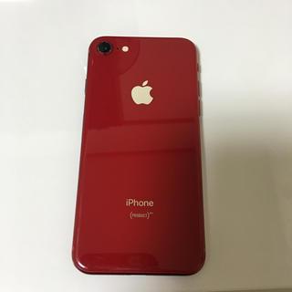 iPhone - SIMフリーiPhone8 レッド