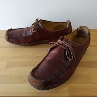 クラークス(Clarks)のclarks / natalie / chestnut lea / 27.5cm(ブーツ)