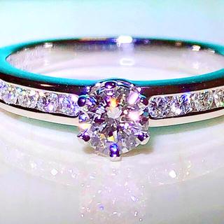 Tiffany & Co. - ティファニー チャネル セッティング 高グレード!