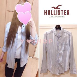 ホリスター(Hollister)のホリスター❤︎デニムシャツ❤︎春服(シャツ/ブラウス(長袖/七分))
