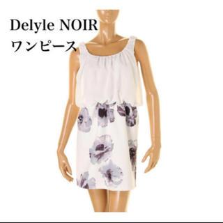 デイライルノアール(Delyle NOIR)のDelyle NOIR ワンピース ♥ レディース(ミニワンピース)