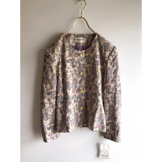 Lochie - vintage francised ゴブラン織り ジャケット ビンテージ